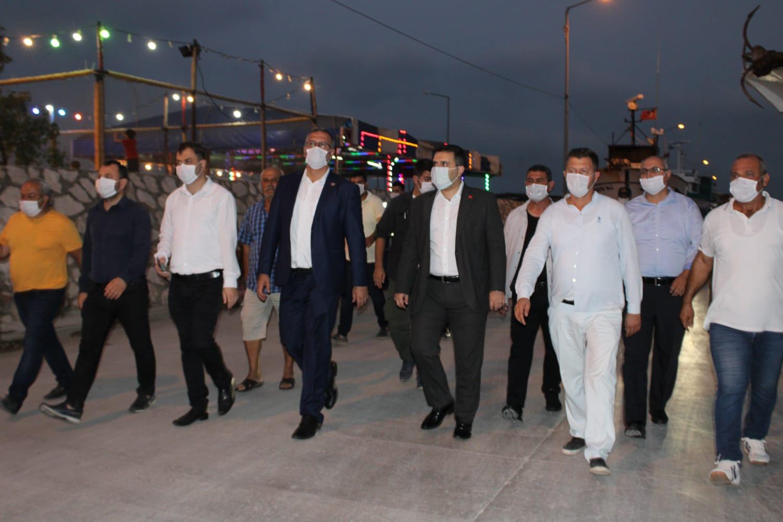 15 Temmuz Karataş'ta gerçekleştirilen program ile anıldı.