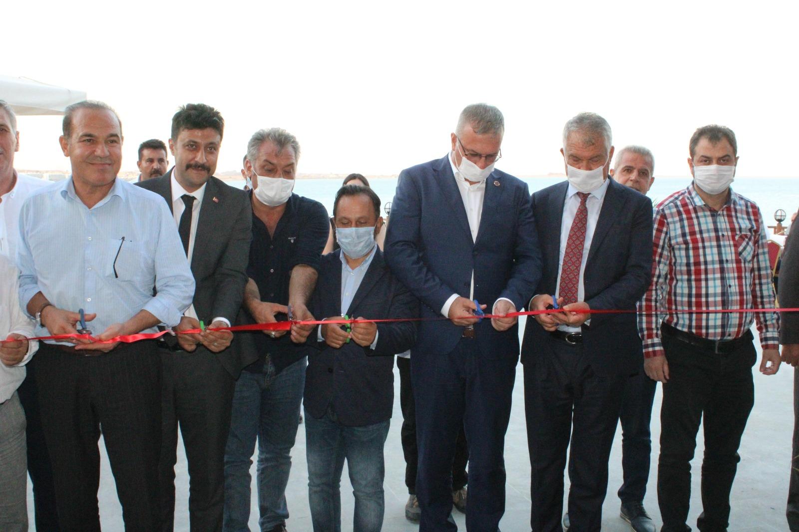 Karataş Belediyesi Şahin Tepesi Kahvaltı Salonu ve Balık Restoran Açıldı.