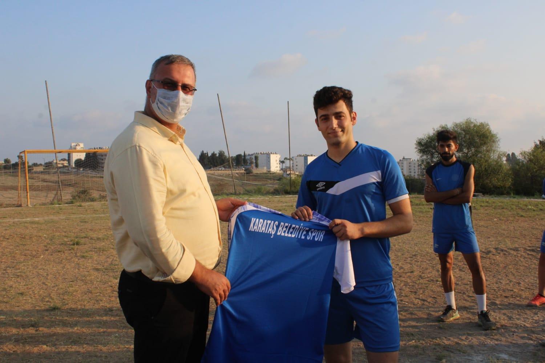 Başkan Topuz'dan Spor Kulübüne Destek.