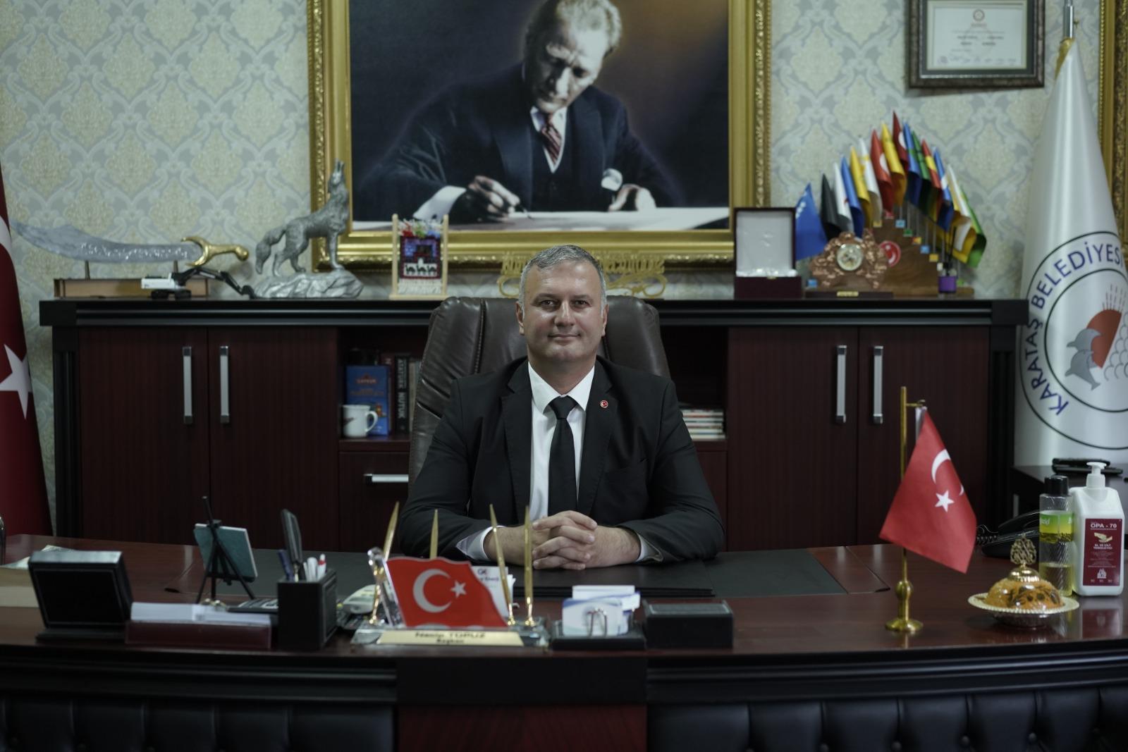 Başkan Necip Topuz'dan 10 Kasım Mesajı